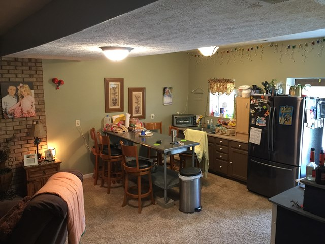 Basement Kitchen/family